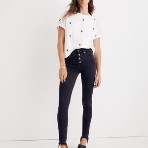 Madewell 9in Mid-Rise Skinny Jean 25P